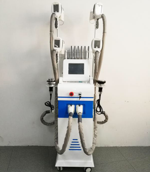 Hot selling portable lipo laser body slimming Cryo + laser + RF + Cavitation velashape machine