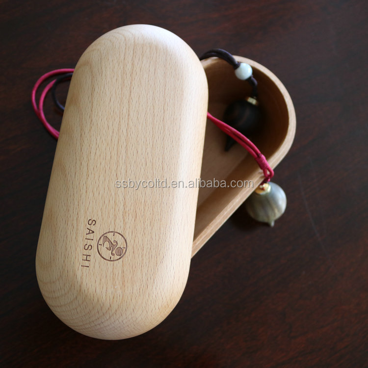 Factory wholesale  Sport Mobile Phone Waterproof Gaming Bluetooth Travel made by wood  earphone