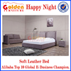 Hot Sale Happy Night New Model Bedroom Furniture Soft Bed G1109