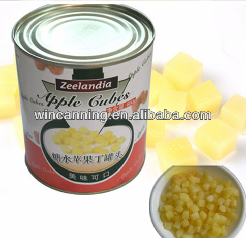 Canned Diced Apples in syrup