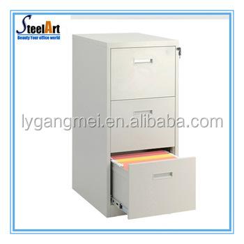 Standard Size H1023*w460*d620mm 3 Drawer Mobile Pedestal Cabinet ...