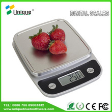5kg electronic manual weighing measuring pet food processing abs plastic small food portable slim digital kitchen scale
