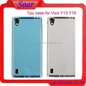 Ultra Slim soft Gel TPU Case cover for vivo Y13 Y15,Mobile phone  accessories for vivo Y13 Y15