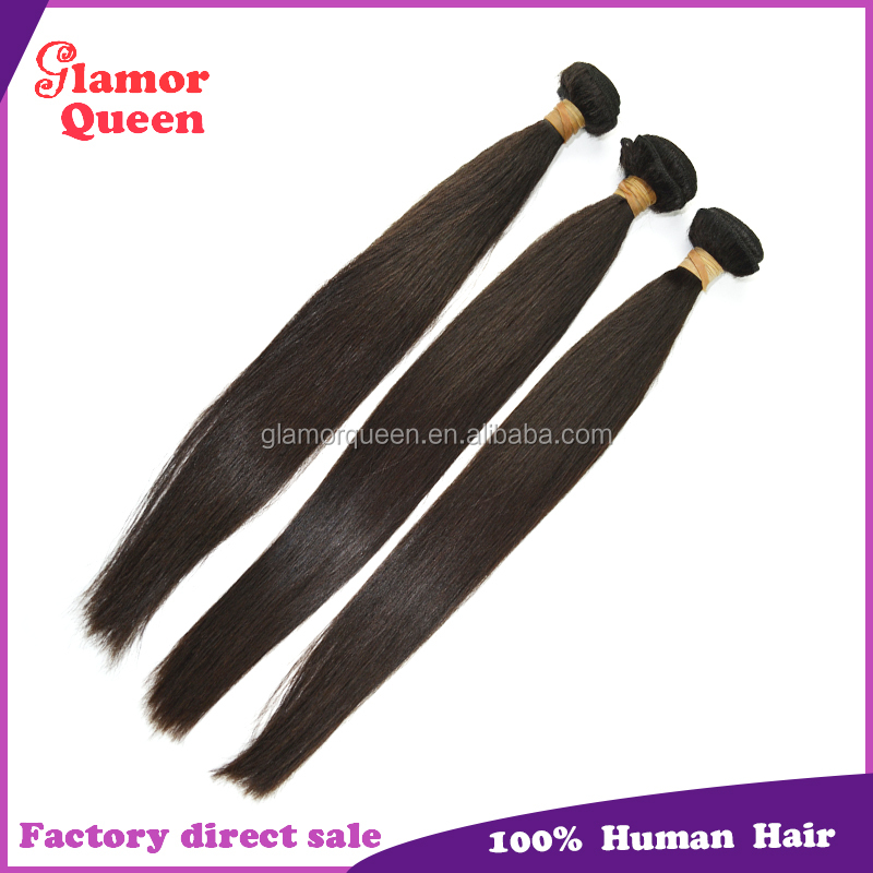 Factory Wholesale Top Quality 100% Virgin Peruvian Hair Weft Peruvian Straight Hair