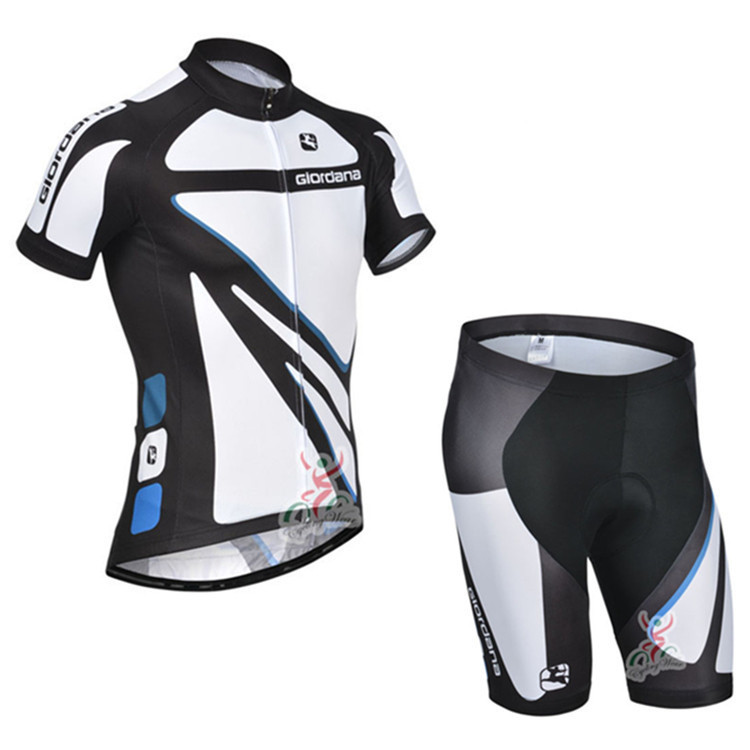 Get Quotations · 2014 Giordana Team Short Sleeve Cycling Jersey Bicicleta  Jersey + Cycling Shorts Suit Summer Cycling Clothing 11ba34726