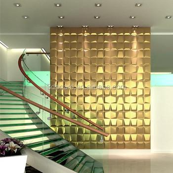 Agreable Plant Fiber Home Decor Pvc 3d Wall Panels Art Deco Furniture For Walls