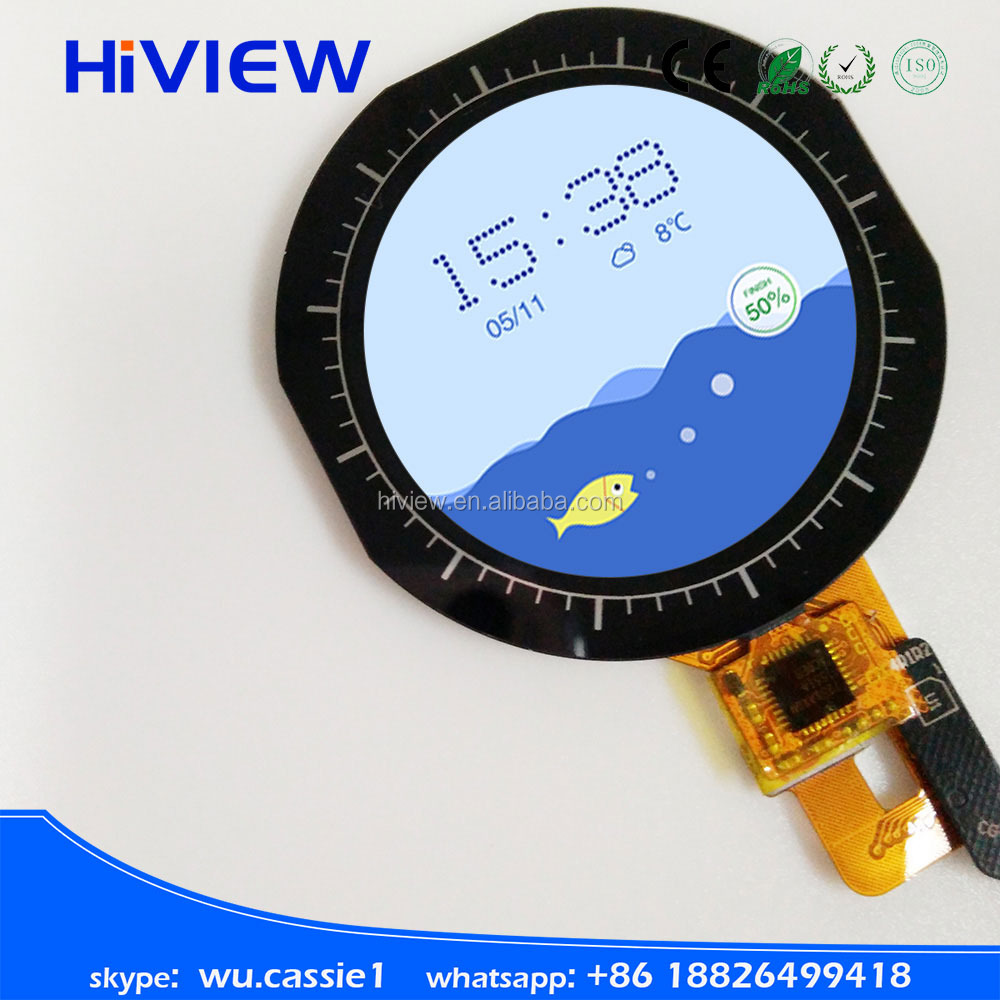 1.22 Inch Small Round Tft Lcd Display For High-end Smart Watch ...