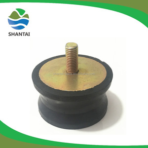 small rubber foot for diesel generator and engine