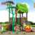 Children slide play time outdoor playground slides used in the playground