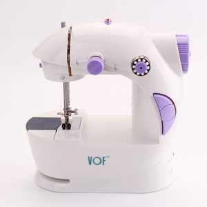 VOF fhsm 201 household mini electric handheld second hand overlock sewing machine
