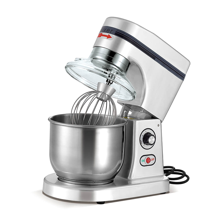 Kitchen equipment industrial 5L stainless steel electric automatic Food mixer