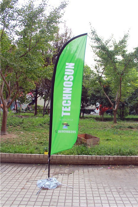 Promotional Advertising Wind shape National American roadside vertical outdoor party teardrop beach bow flying flag banner