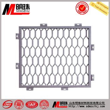 Wire Mesh Expanded Net Diagonal Hexagonal Wire Mesh Indoor Ceiling ...