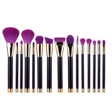 Professional 15pcs/set makeup brush set Powder Foundation Eye Make up private label makeup brush toos kits