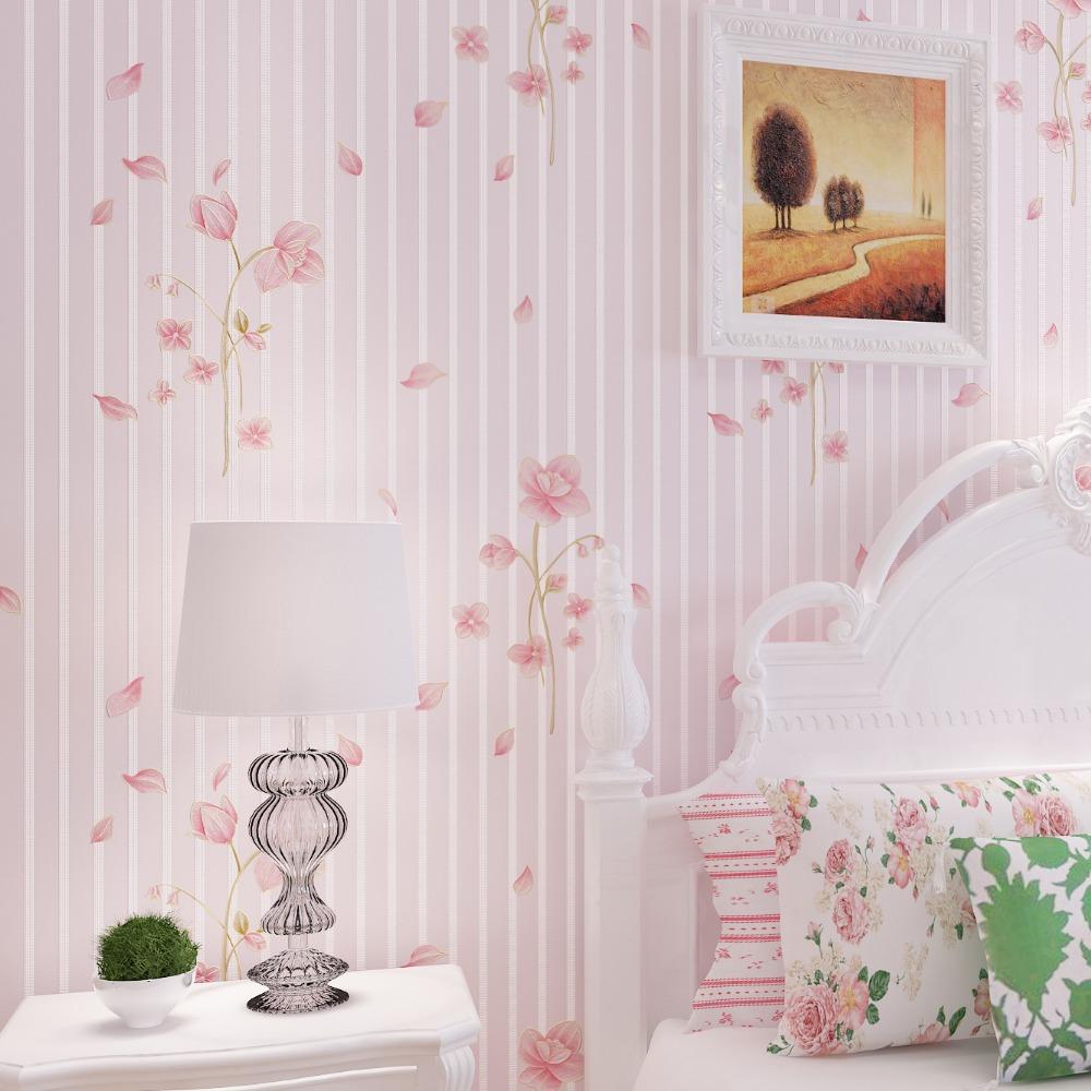 Pink Flower Wallpaper For Bedrooms Wallpapers Gallery