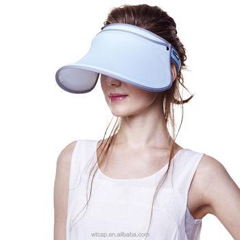 Ladies Solar UV-Anti UPF 50+ Sports Headband Visor Sun Hat Golf Cap Tennis 2e5365fe0fc