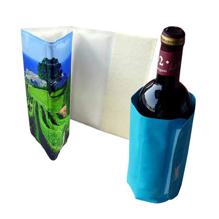 1.5l gel wine bottle cooler wrap