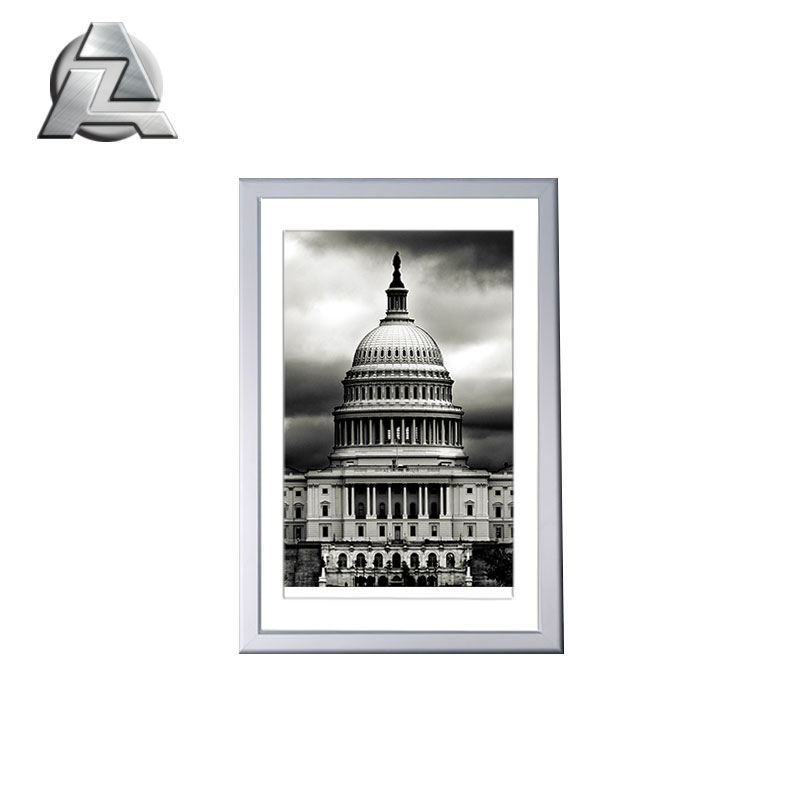 Silver 8 x 10 Craft photo picture Frame With Mat