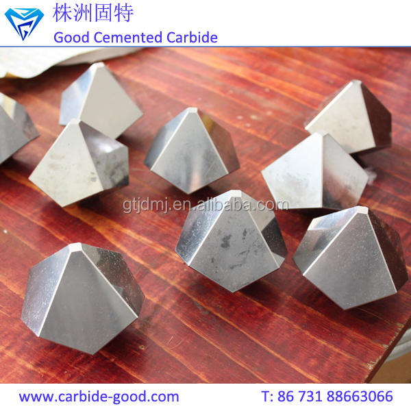 Diamond Making Jewelry Tools Tungsten Carbide Anvil For Synthetic Diamond Pressing Machine
