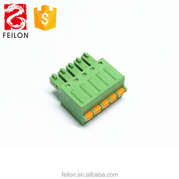 Replace Fk-mcp 1 5 3 5 Or 3 81mm Pitch Push Wire Types Button Pluggable  Printed-circuit Board Terminal Block Connector - Buy Push Wire Pluggable