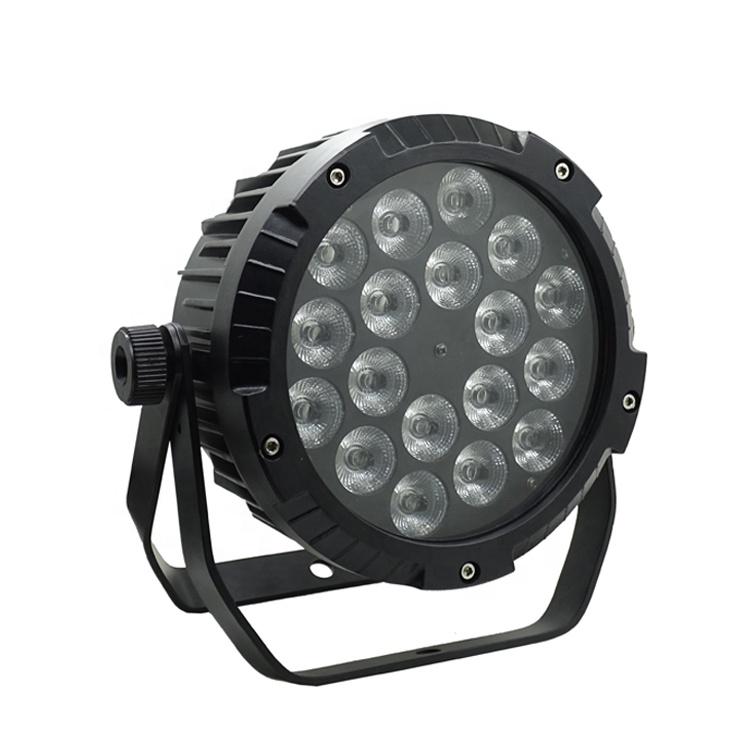 18x18w Rgbwauv 6-in-1 Waterproof Led Wall Wash Dmx512 Washer Outdoor Dj Light 100% Original Stage Lighting Effect