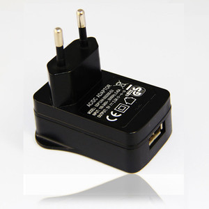 New UK/EU Plug 5V 2A USB Wall Charger Power Adapter AC 100-240V Power Supply For GPS and Game Player