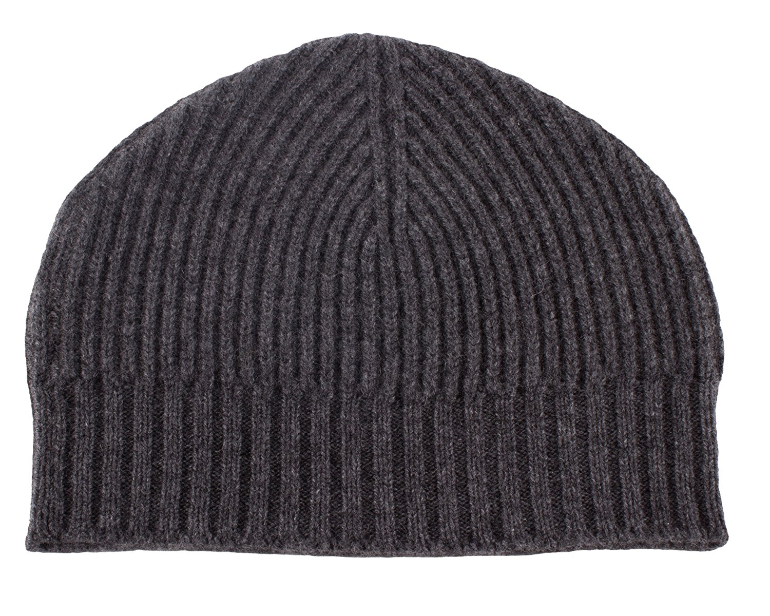 f054064b32e9e Get Quotations · Mens Ribbed 100% Cashmere Beanie Hat - Various Colors -  made in Scotland by Love