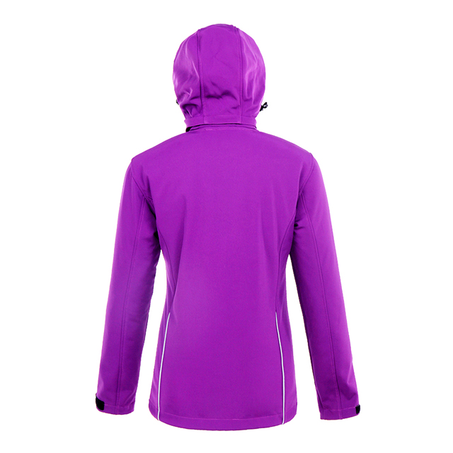 Ladies Customized High Quality Hiking Softshell Coat Camping Windbreaker Jackets