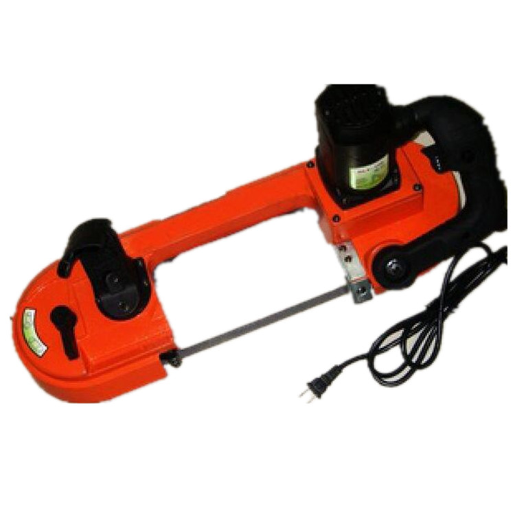 Portable small handheld band saw machine for pipe cutting