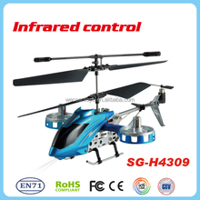 4.5CH RC toy IR flying helicopter with 3 Axis Gyro