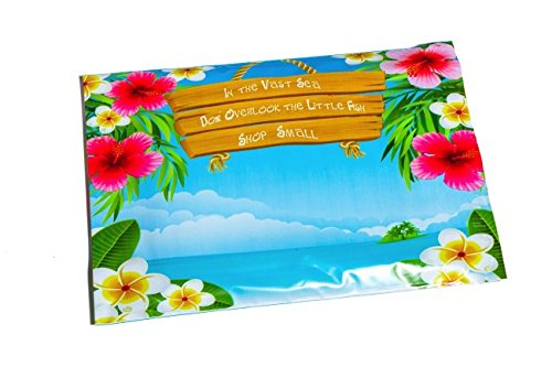 Poly Mailers Shop Small Beach Designer Mailers Shipping Envelopes Blue & Pink Boutique Custom Bags #SmileMail (100 10x13)