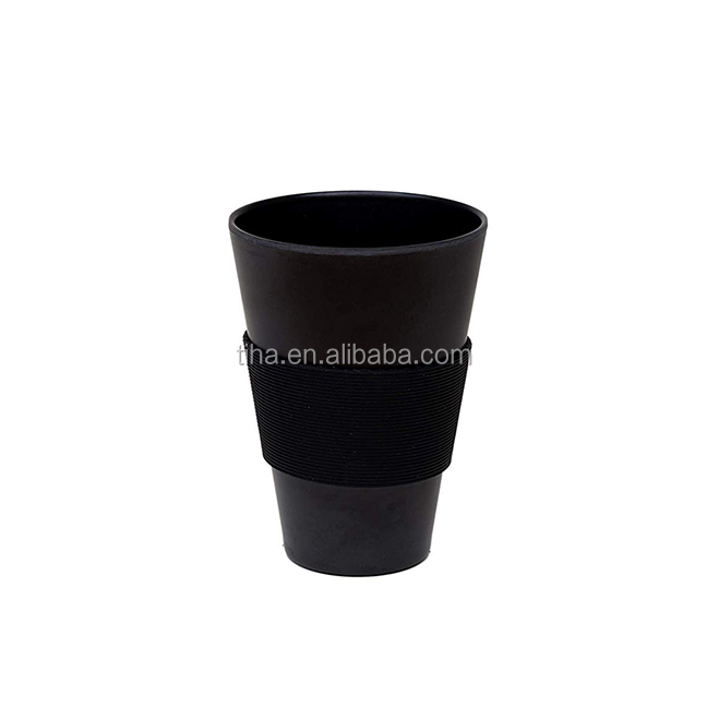 Burgundy Color and Mugs Drinkware Type coffee to go bamboo cup