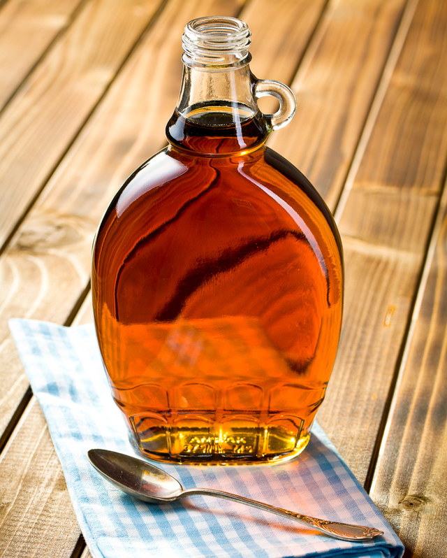 High Quality Flat Glass Empty Syrup Bottle With Handle