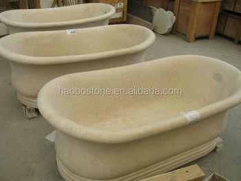 Vasca Da Bagno Pietra : Pietra di marmo beige vasca da bagno manifattura buy vasca da