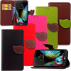 For LG K10 new products, Leaf PU leather Case for LG K10, For LG K10 phone cases