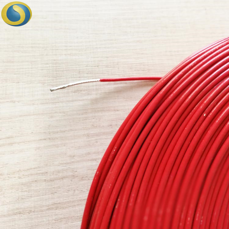 AWM UL1332 FEP HIGH TEMPERATURE SINGLE CORE 30-10AWG TEFLON CABLE WIRE