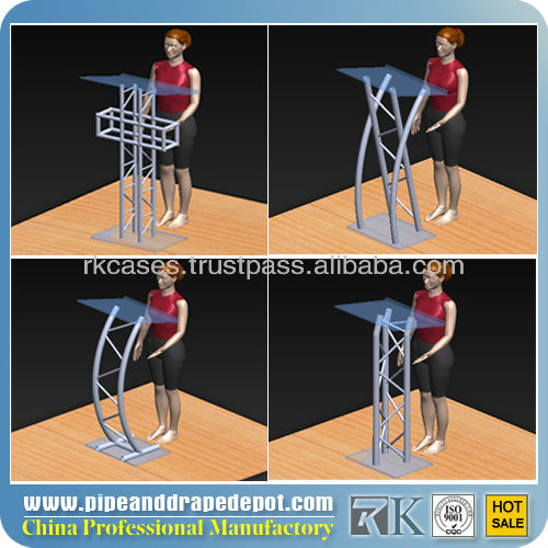 Truss Design Speech Podium,Teaching Podium Desk - Buy Speech ...