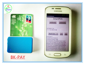 Mini 2 in 1 bluetooth emv card reader skimmer emv atm