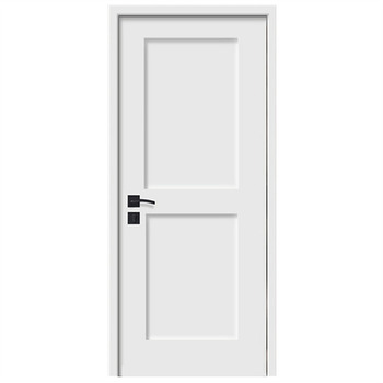 hot selling matt white lacquer shaker style wood door