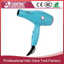 2017 best 2200W safe professional steam hair dryer in guangzhou