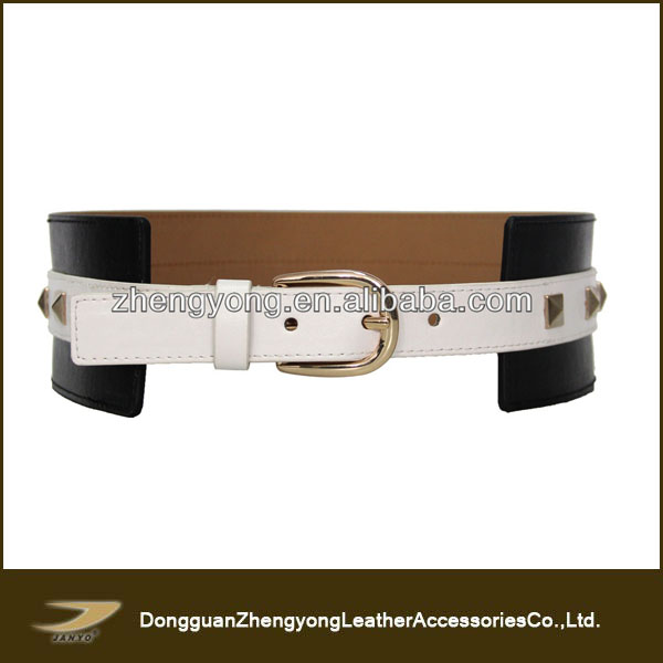 Popular Ladies Fashion Big Wide Belt For Dress