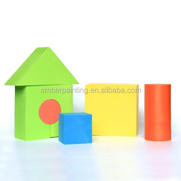 High-density educational kids big building eva foam blocks