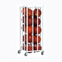 S6242 vertical basket ball wall cage for 20 balls