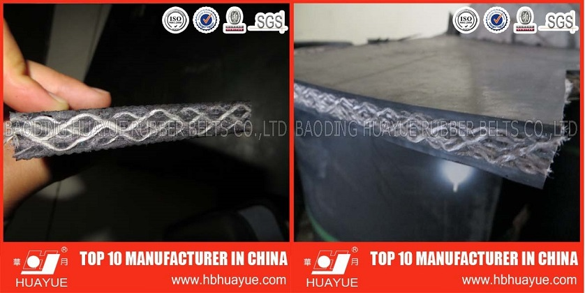 10MM THICK S1200 PVC/PVG SOLID WOVEN CONVEYOR BELT