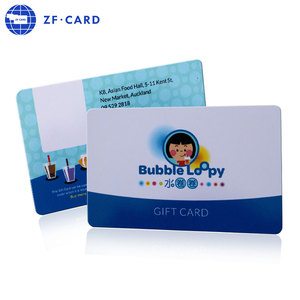 Customized competitive price fancy fudan f08 smart gift/loyalty cards