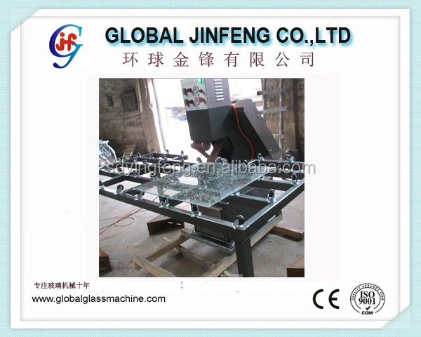 JFSD1 Glass belt grinding and polishing machine big processing table