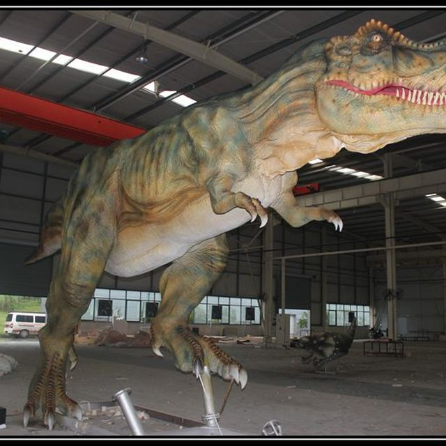 Amusement park 12 meters t-rex robot
