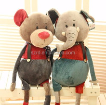Adorable Big Large Long Leg Elephant Mouse Doll Realistic Looking Stuffed Animal Children's Gifts Animals