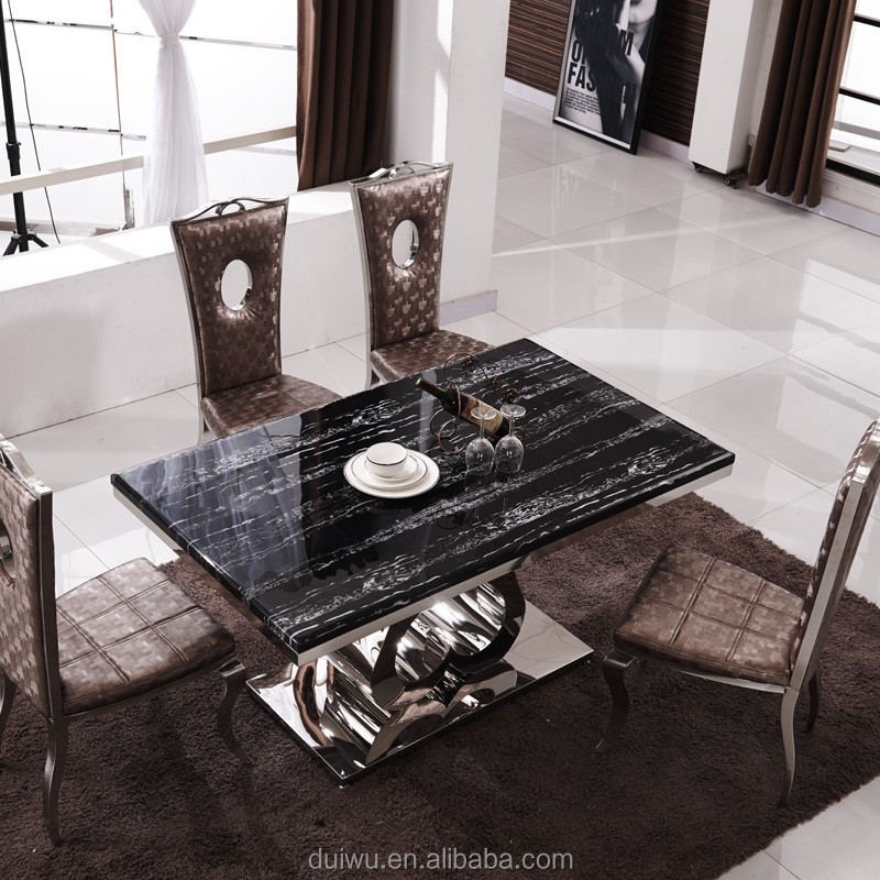 Modern Home Furniture 10 Seater Marble Dining Table For