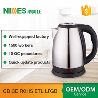 Best price fashion multifunction electric water kettle stainless steel